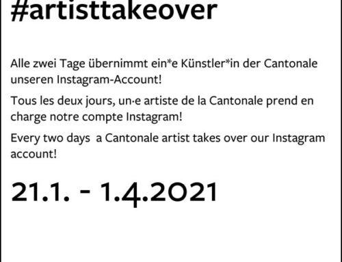 #artisttakeover Cantonale Berne Jura 2020 sur Instagram